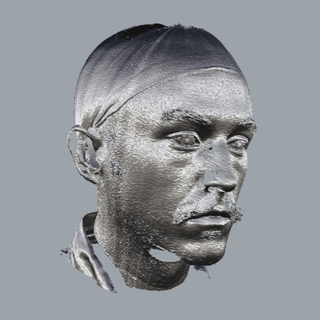 Head Scan of Thomas Elliott Burns